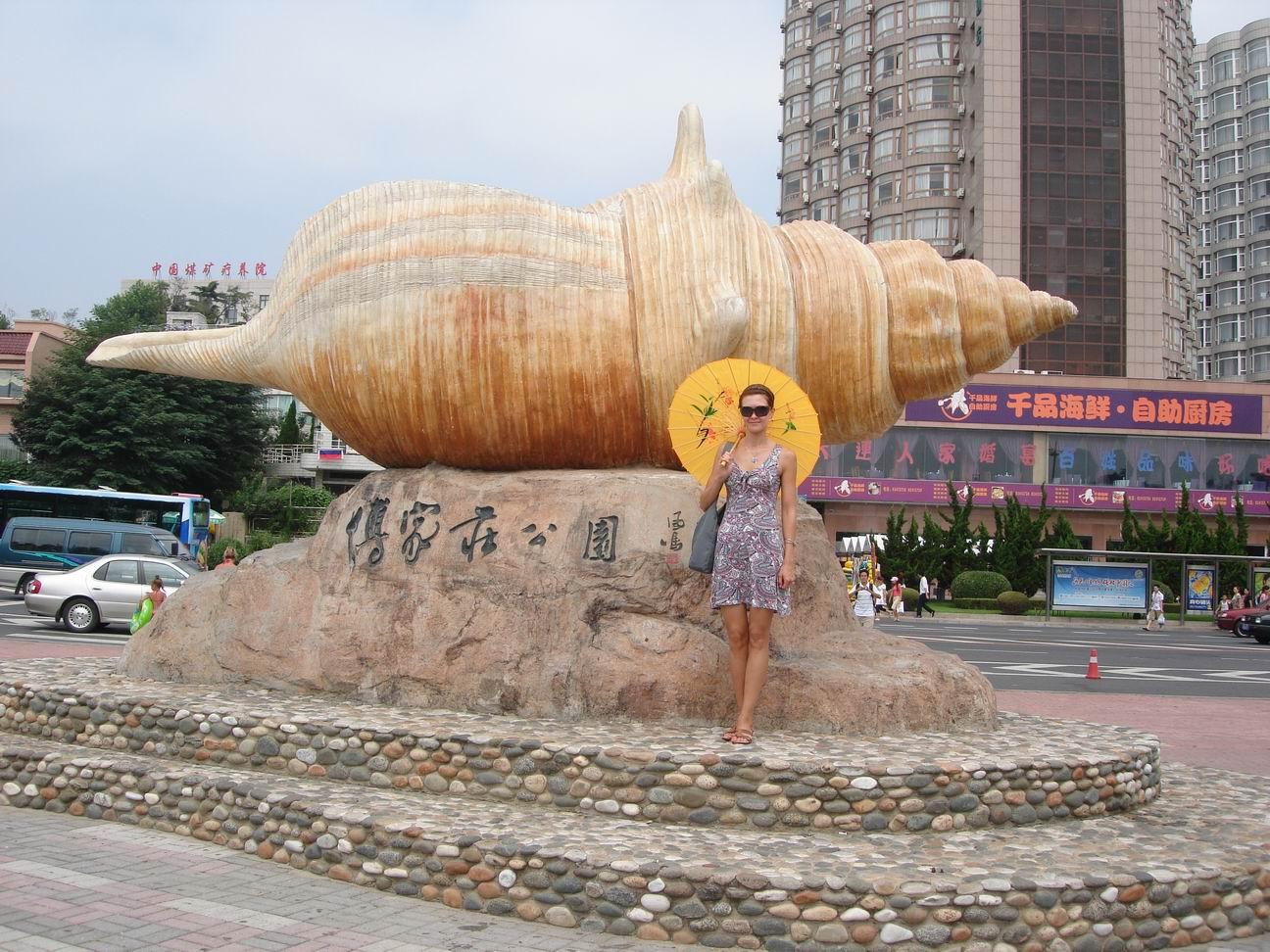 Пляжи даляня китай фото